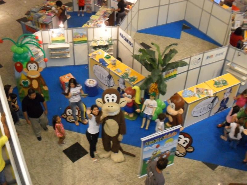 Salão do livro no lançamento da revista em quadrinhos da turminha Macakids no shopping Praia da Costa de 2 a 17 de outubro.