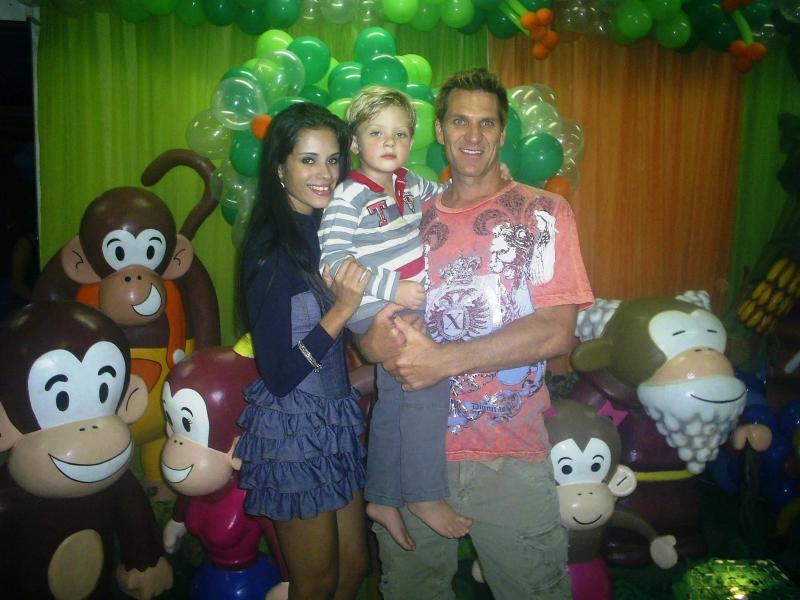Festa de 4 anos do Guilherme com os Macakids