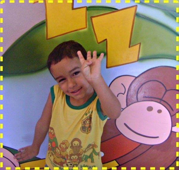 Festa de 4 anos do Estevão com os Macakids
