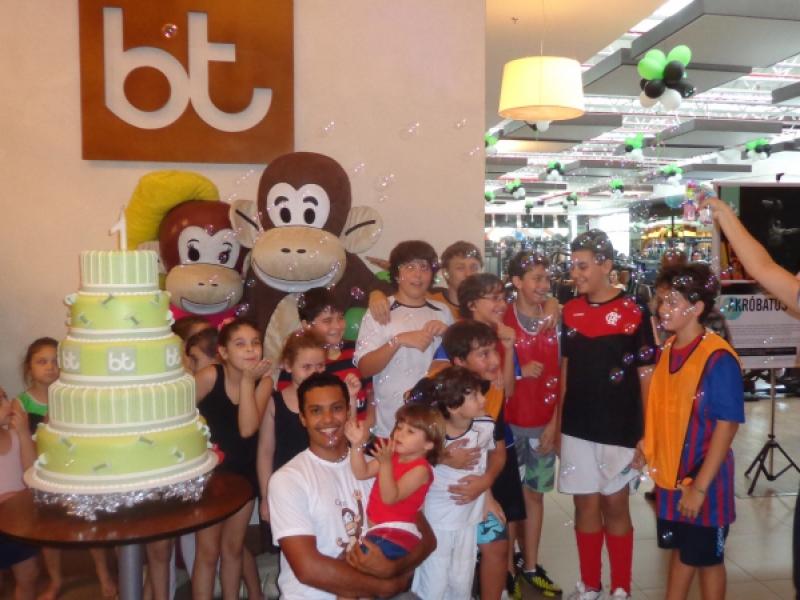Macakids no 1º aniversário da Bodytech Vila Velha!