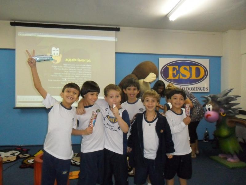 Macakids na Escola São Domingos