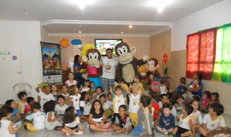 Macakids na escolinha Playground 2011