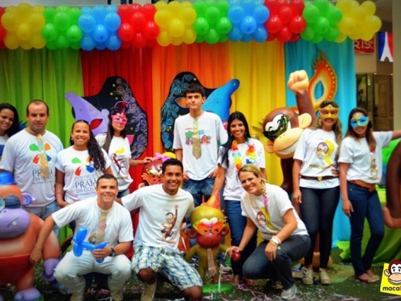 1º Bailinho de Carnaval no Shopping Praia da Costa