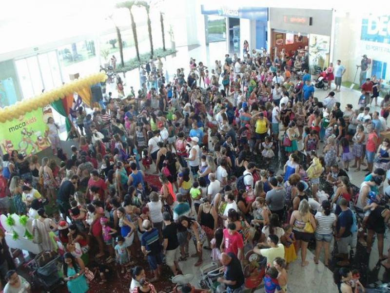 4º bailinho Macakids Shopping Vila Velha
