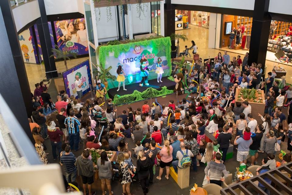 Show Macakids no shopping Praia da Costa/ES