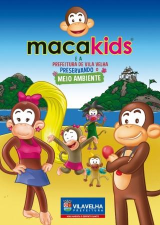 Esta edição conta a história dos Macakids, dos Macacosujos e o início de toda a aventura na ilha.
