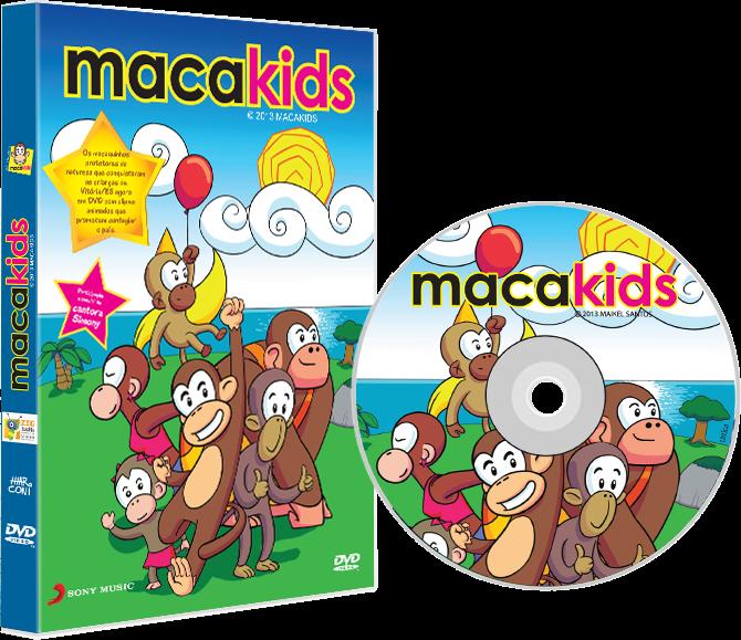 DVD Macakids Sony Music